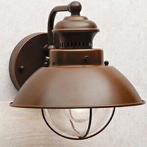 玄関照明 外灯 ポーチライト LED ランプ 門灯 壁付け照明 センサーなし 節電対応 LED一体型 エクステリアライト 外灯 照明  アンティーク風 ベーシック玄関照明 外灯 ブロンズ