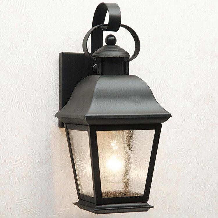 玄関照明 外灯 ポーチライト LED ランプ 門灯 壁付け照明 センサーなし 節電対応 エクステリアライト 外灯 照明  アンティーク風 レトロ おしゃれ 玄関照明 外灯 ブラック