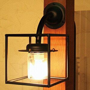 玄関照明 外灯 ポーチライト ランプ 門灯 壁付け照明 センサーなし 節電対応 エクステリアライト 外灯 照明  アンティーク風 レトロ おしゃれ 玄関照明 外灯 クリスタル門灯