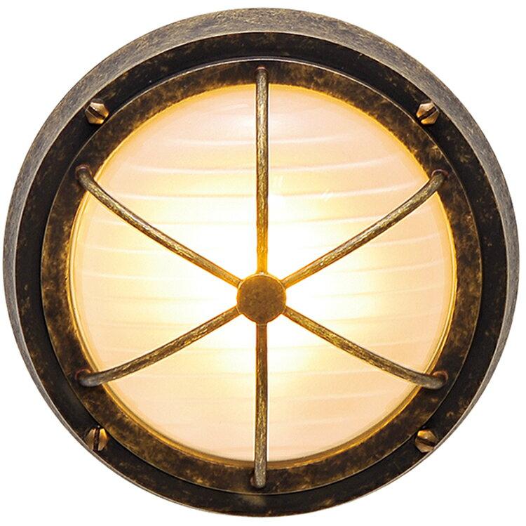 玄関照明 外灯 照明 ガーデンライト マリン 門灯 ランプ センサなし エクステリアライト 外灯 アンティーク風 おしゃれ 玄関照明 外灯 センサー無 照明 ブラケット LED くもりガラス マリンライト