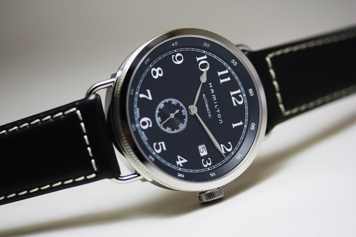 Hamilton【ハミルトン】Khaki Navy Pioneer 40mmカーキネイビー・パイオニア自動巻き腕時計