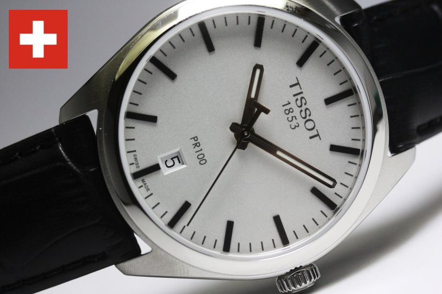 リーズナブルな価格のスイス製Tissot【ティソ】PR100クォーツ腕時計T101.410.16.031.00