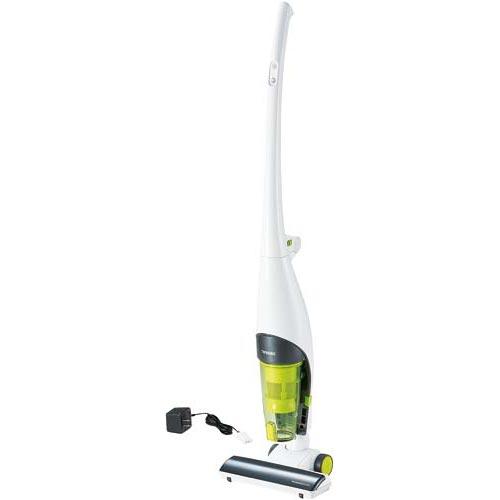 ツインバード 掃除機 コードレススティック型クリーナー ホワイト
