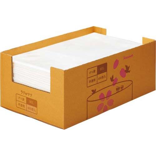 「カウコレ」プレミアム 高密度 超増量ゴミ袋 90L 400枚 | カウモール ゴミ袋 ごみ袋 レジ袋 ビニール袋 日用品 生活雑貨 大掃除 掃除用品