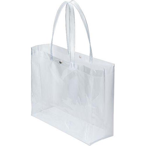 「カウコレ」プレミアム 持ち出しやすいシースルーバッグ Lサイズ×20