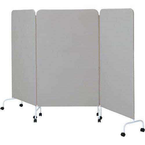 カウネット シンプルパネル3連 グレー
