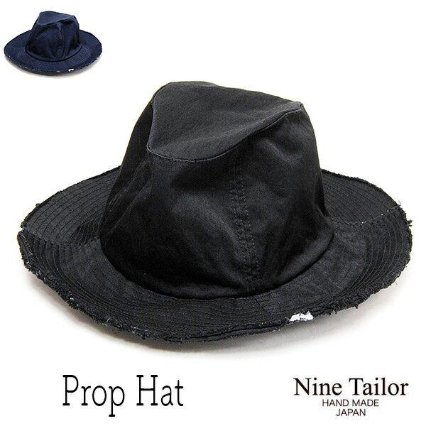 """帽子 """"NINE TAILOR(ナインテイラー)""""コンブナイロンハット [PROP HAT] 【あす楽対応】 【送料無料】【コンビニ受取対応商品】"""