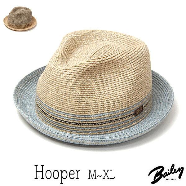 """帽子 アメリカ""""Bailey(ベイリー)""""ブレード中折れ帽<HOOPER>【あす楽対応】 [大きいサイズの帽子アリ]【コンビニ受取対応商品】SS17S1"""