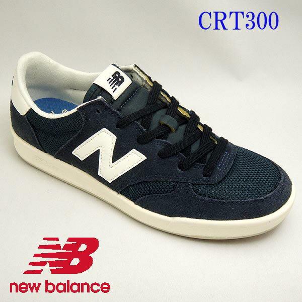【送料無料】【クラシック テニススタイル】 ニューバランス メンズレディーススニーカー CRT300 NAVY newbalance CRT300cf
