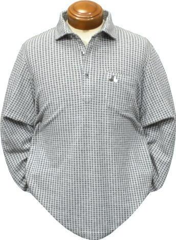 【送料無料】ブラックアンドホワイト メンズ 長袖ポロシャツ 9317GF/TB 吸湿発熱日本製【M・L・LL】