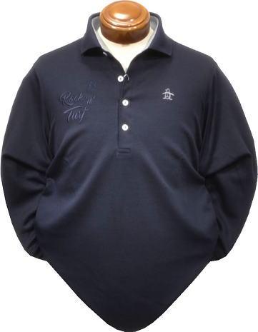 マンシングウエア メンズ 長袖ポロシャツ JWMK117 吸放湿長袖シャツ2017秋冬【M・LL・3L】
