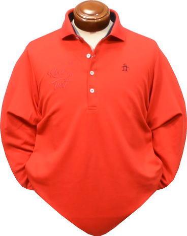 マンシング メンズ 長袖ポロシャツ JWMK117 吸放湿長袖シャツ2017秋冬【M・LL・3L】