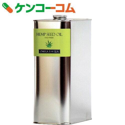 ヘンプシードオイル 1650g[アルコイリス ヘンプオイル(麻の実油)]【送料無料】