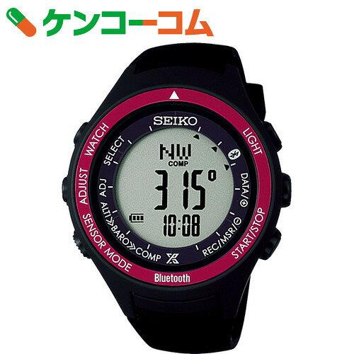 セイコー プロスペックス アルピニスト ソーラー/ブルートゥース通信機能付 S810 レッド SBEK003[SEIKO(セイコー) 腕時計]【送料無料】