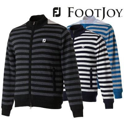 【がんばるべ岩手】【FOOTJOY】FJ-F17-O59フットジョイ アパレルフルジップセーターゴルフ ウェア  2017年 秋冬モデル