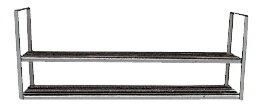 杉田エース SUS水切棚A型1200 2段式 531-316