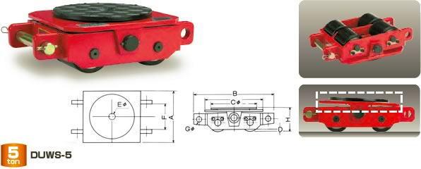 ダイキ スピードローラー 標準タイプ DUWS-2 スペシャル型 能力2t