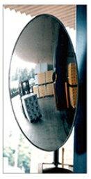 コミーミラー 凸面ミラー フォーク出口ミラー B55K【W330×H550】 ※柱壁用