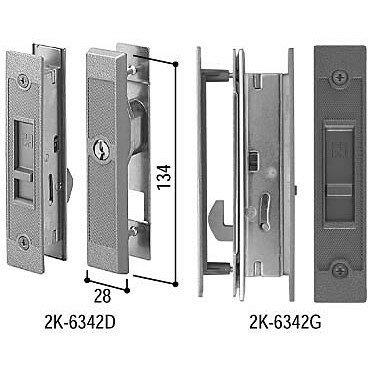 YKKAP 引戸錠セット 4枚建用 HH-J-0816 玄関引戸