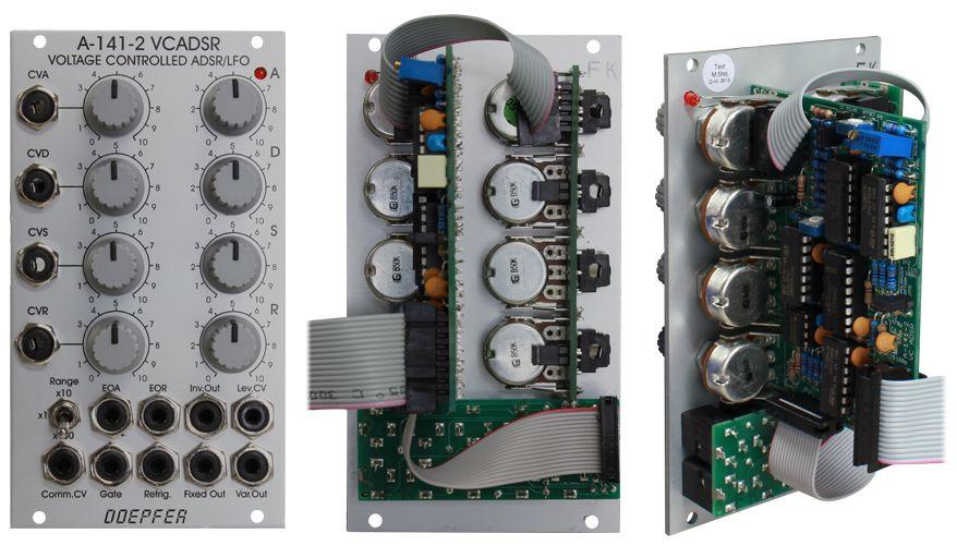 Doepfer A-141-2 Voltage Controlled Envelope Generator VCADSR / VCLFO【送料無料】