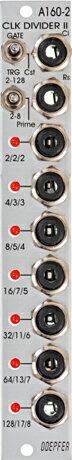 Doepfer A-160-2 Clock/Trigger Divider II【送料無料】
