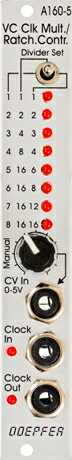 Doepfer A-160-5 VC Clock Multiplier/Ratcheting Controller【送料無料】