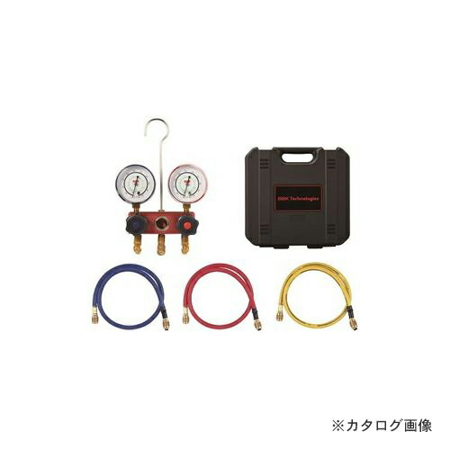 BBK R410A ヒートポンプ対応マニホールドキット チャージングホース90cm仕様 1410-HP (203-1141)