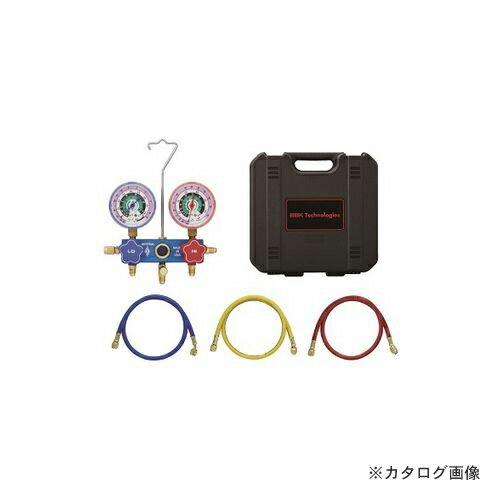 BBK R22/R12/R502 サイトグラス付マニホールドキット 1531-CBM (201-0301)