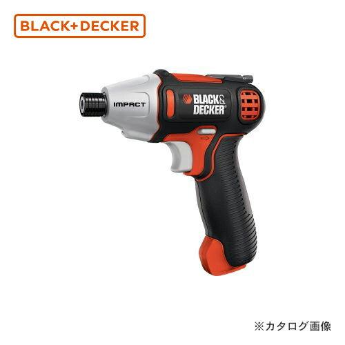 ブラックアンドデッカー BLACK&DECKER 7.2VインテリアインパクトDV ISD72-JP 589011
