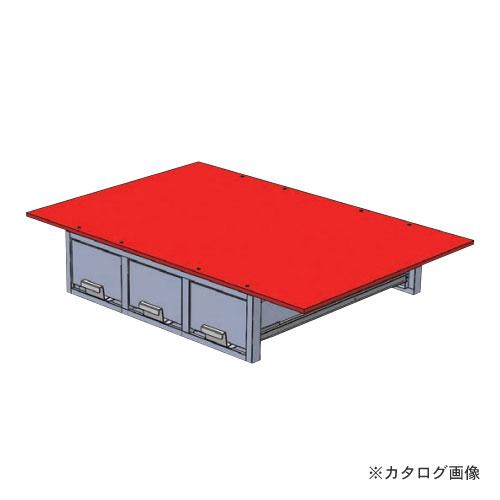 【直送品】デンサン DENSAN バンキャビネット(3列引き出し) SCT-F05