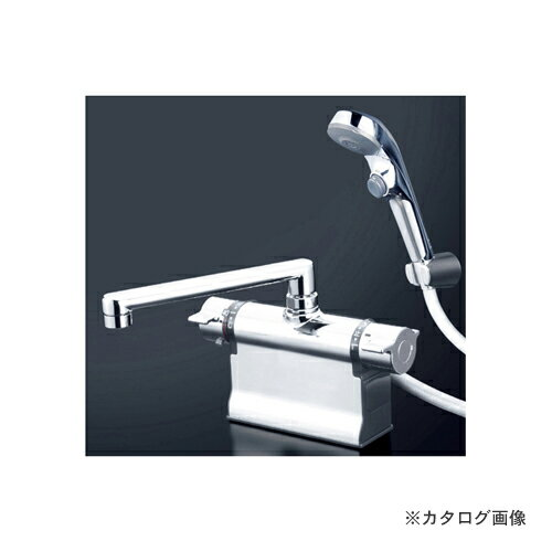 KVK KF3011TS2 デッキサーモシャワーフルメッキヘッド付