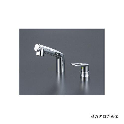 KVK KM5271ZTEC 寒 シングル洗髪シャワー eレバー