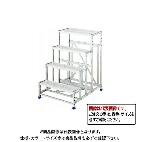 【直送品】ハセガワ 長谷川工業 組立式作業台 ライトステップ DB2.0-1-4 16816