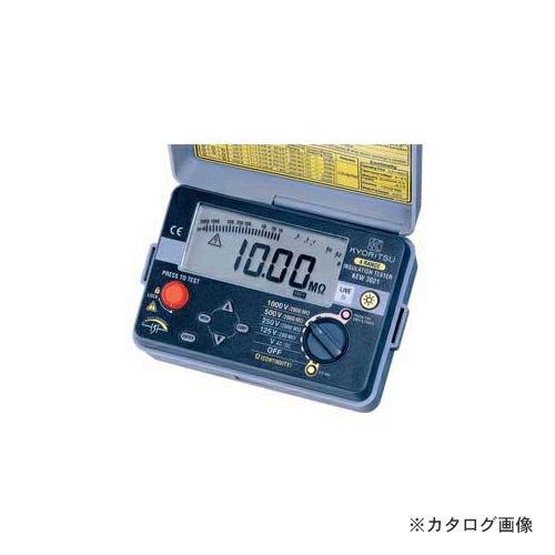 共立電気計器 KYORITSU 絶縁抵抗計 キューメグ KEW 3021