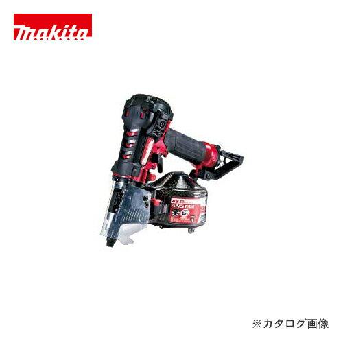マキタ Makita 50mm 高圧エア釘打 エアダスタなし 赤 AN512H