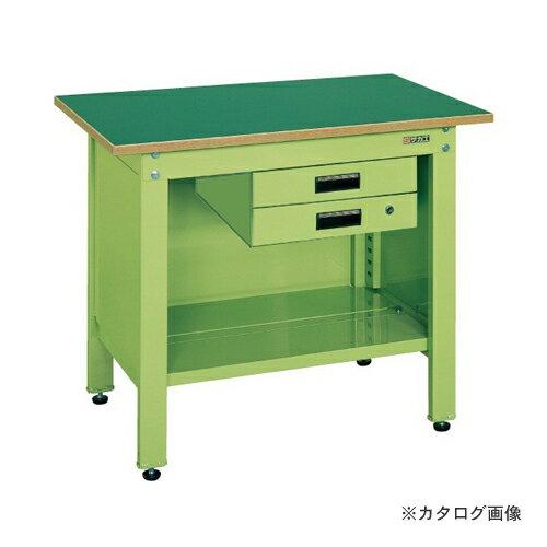 【直送品】サカエ SAKAE 一人用作業台・軽量固定式 CP-126B