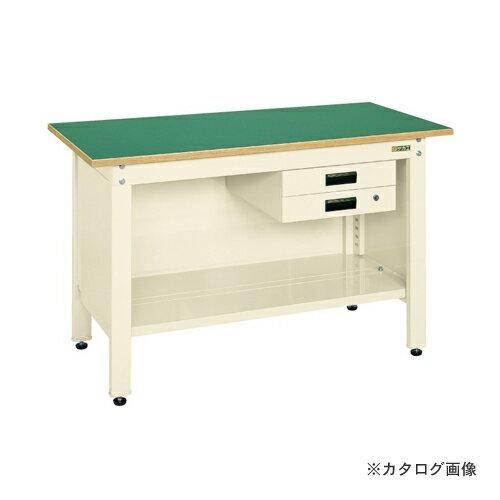 【直送品】サカエ SAKAE 一人用作業台・軽量固定式 CP-126BI