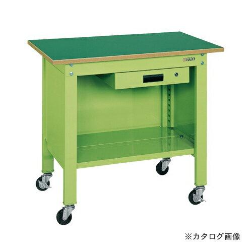 【直送品】サカエ SAKAE 一人用作業台・軽量移動式 CPB-126A