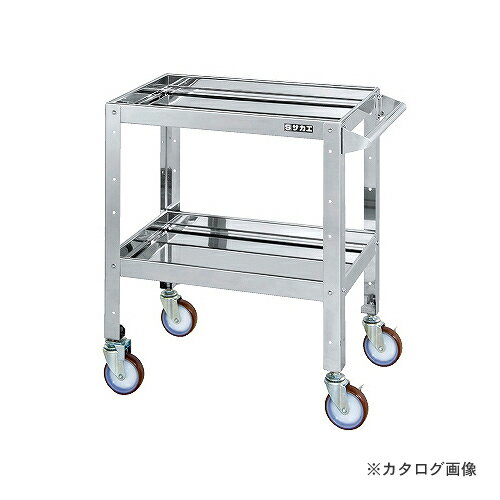 【直送品】サカエ SAKAE ステンレスニューCSスペシャルワゴン CSSA-607SS