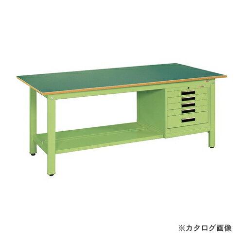 【直送品】サカエ SAKAE 軽量作業台KKタイプ SVEキャビネット付 KK-59FSVE5