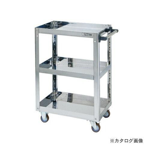 【直送品】サカエ SAKAE ステンレススーパーワゴン KMR-150SU4J