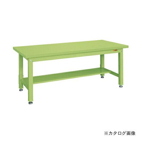 【直送品】サカエ SAKAE 重量作業台KWタイプ中板1枚付 KWS-188T