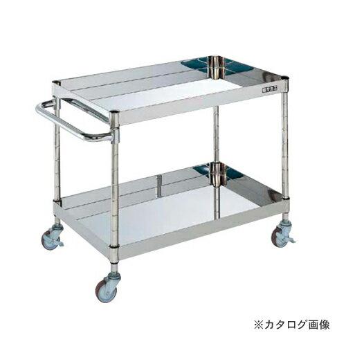 【直送品】サカエ SAKAE ステンレスニューパールワゴン PBR-02SUA