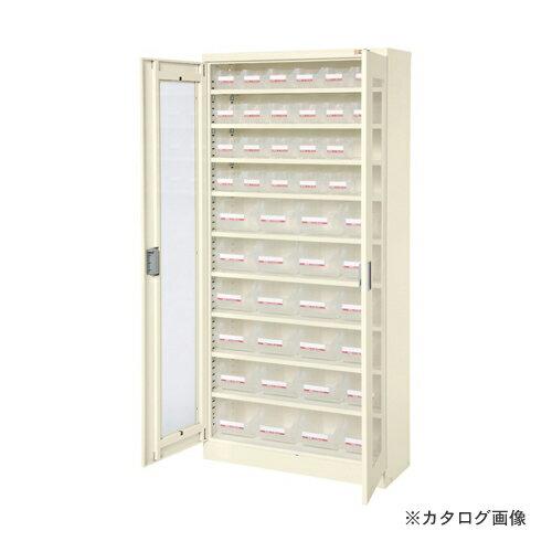 【直送品】サカエ SAKAE コンテナラックケース・扉付 SCR-18TDI