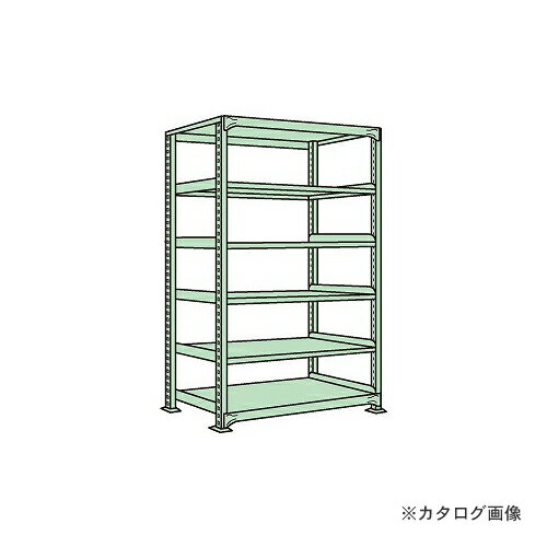 【運賃見積り】【直送品】サカエ SAKAE 中軽量棚ML型 ML-2156