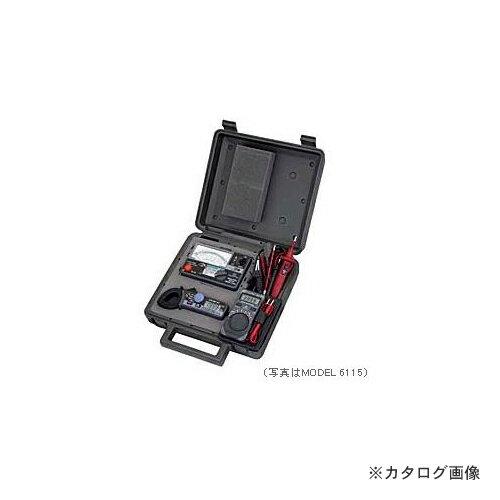 【納期約2週間】共立電気計器 KYORITSU 携帯用絶縁測定ミニセット MODEL 6115