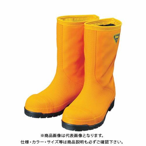 SHIBATA 冷蔵庫用長靴-40℃ NR031 24.0 オレンジ NR031-24.0