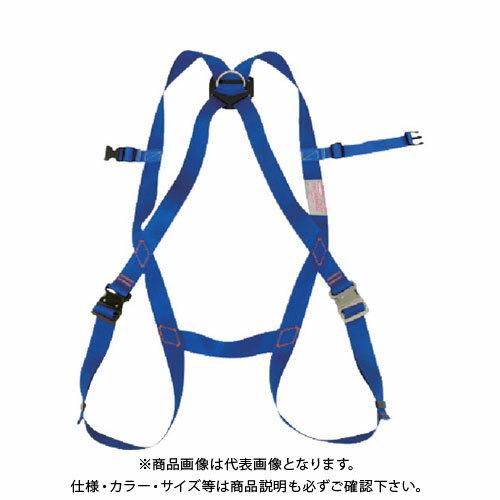 【納期約1ヶ月】ツヨロン フルハーネス安全帯 青色 L寸 R-510-D-OT2-L-BX