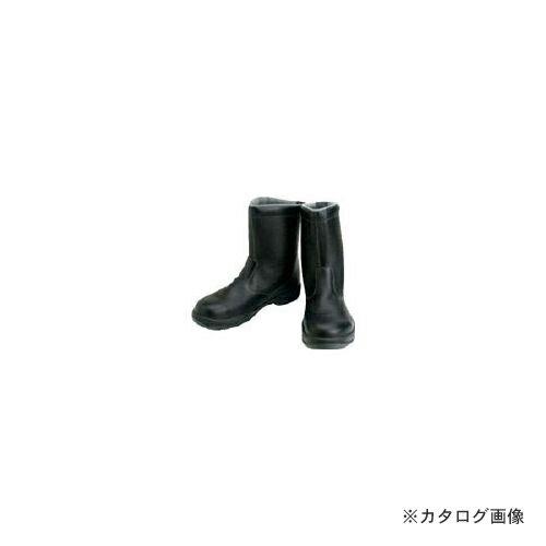 限定品 シモン 安全靴 半長靴 SS44黒 24.5cm SS44-24.5