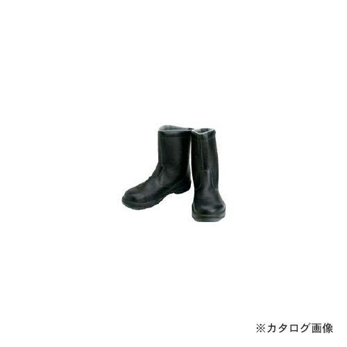 充実 シモン 安全靴 半長靴 SS44黒 26.5cm SS44-26.5